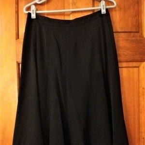 East 5th Black Gored Panel Skirt - NWT